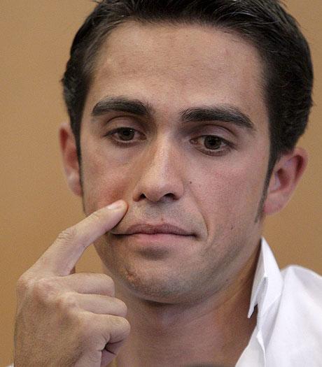 El ciclista español Alberto Contador está acusado de dopaje. - EFE/ Enlajugada