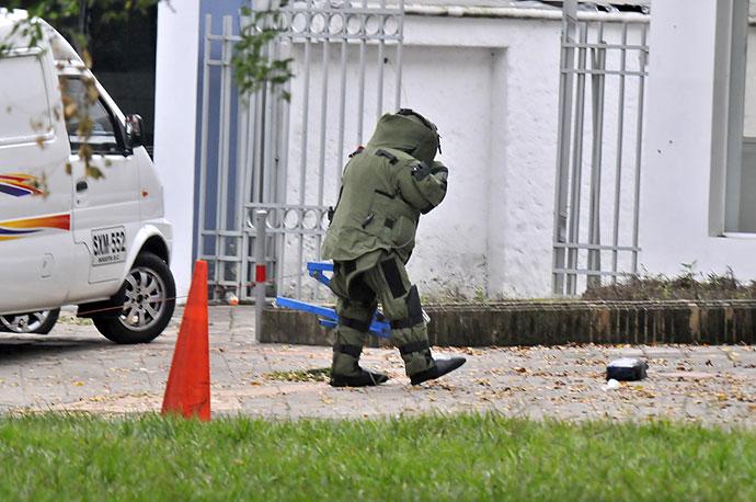 Falsa alarma de bomba en el barrio ciudad jard n for Barrio ciudad jardin
