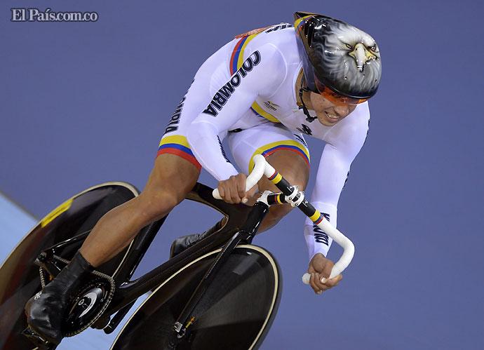 Jornada dorada para el ciclismo colombiano de pista