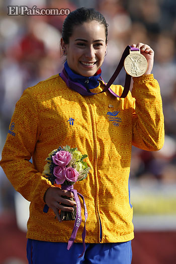 Mariana Pajón ganó la primera medalla de Oro para Colombia
