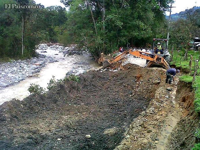 Diez mil personas afectadas por creciente del río Guadalajara en ... - El Pais - Cali Colombia