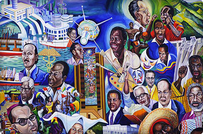 Im genes retrospectiva a la recuperaci n del mural que for Club joven mural