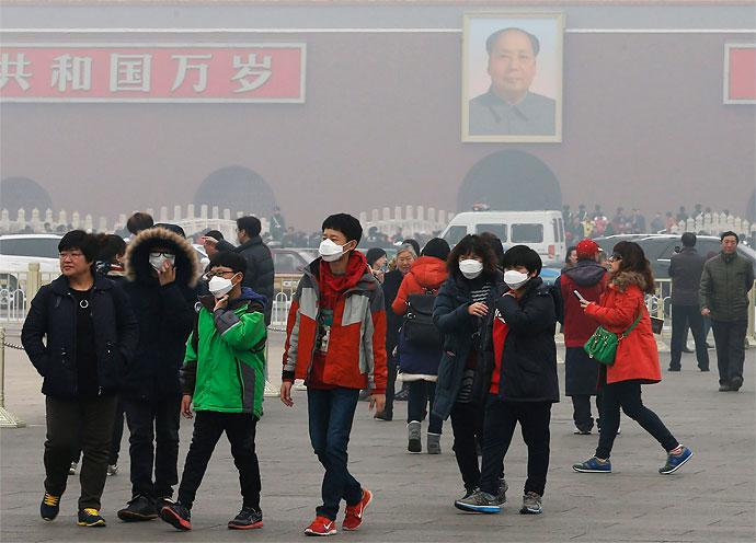Resultado de imagen de contaminacion en pekin