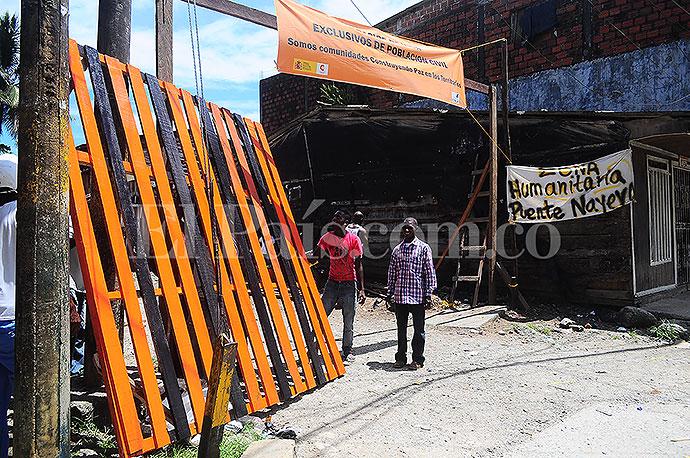 Habitantes del barrio La Playita de Buenaventura le cierran el paso a la violencia
