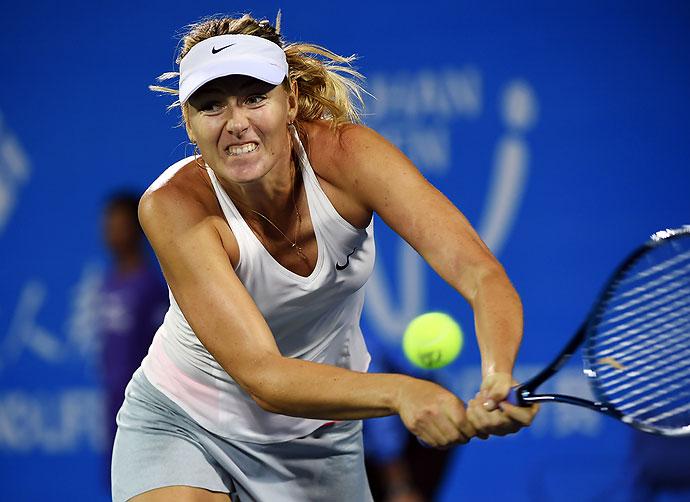 María Sharapova volverá a jugar el próximo 26 de abril