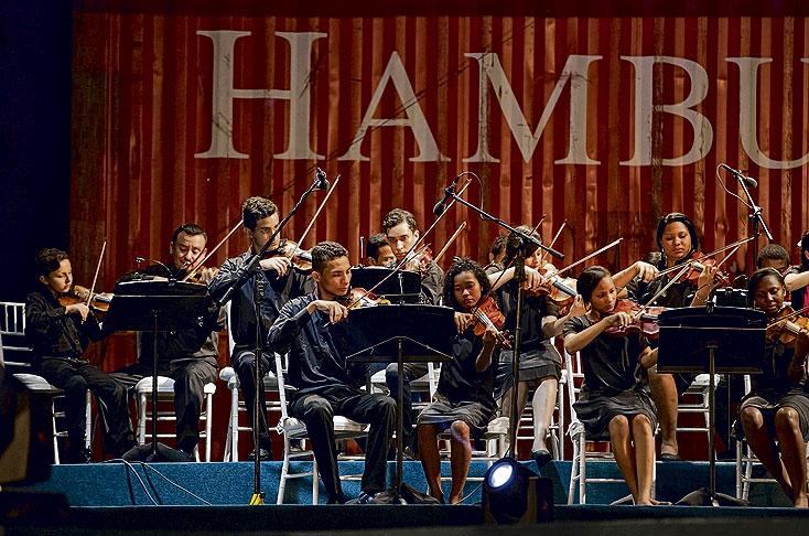 Los jóvenes hicieron presencia en el Festival de Música de Cartagena - El Pais - Cali Colombia