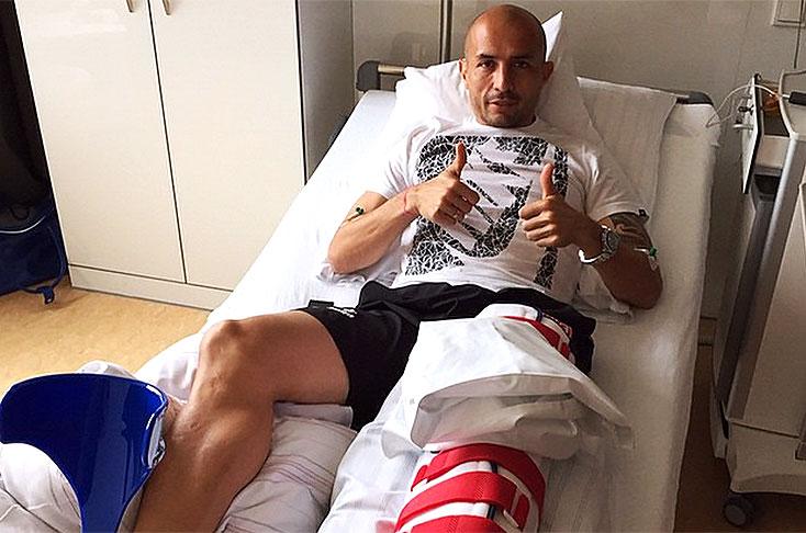 Buenas noticias tras la cirugía de Elkin Soto en Alemania