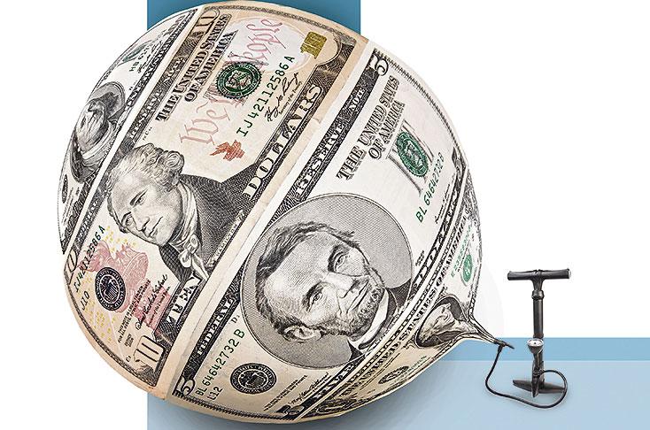 El dólar alcanza nuevo máximo histórico y toca los $2.973 hoy