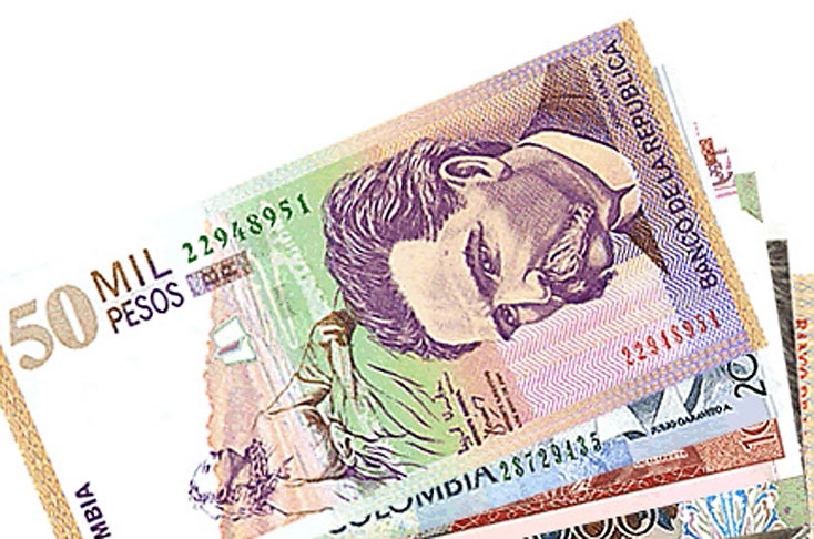 Forex colombian peso