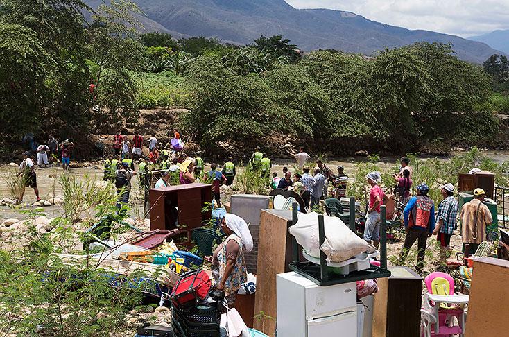 Colombia culpable de la situación fronteriza con Venezuela