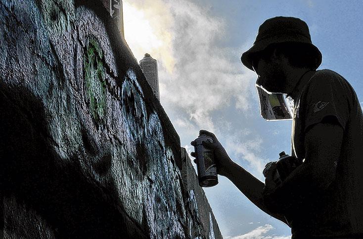 ¿Se debe hacer mayor control a los grafitis en Cali?