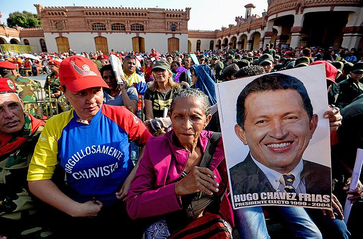 El chavismo vive su peor hora, tres años después de la muerte de su líder