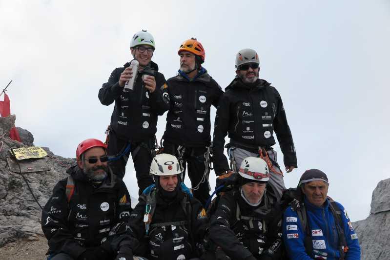 Los expedicionarios colombianos coronaron las siete cumbres