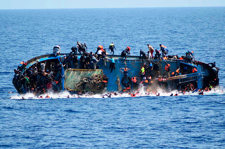Refugiados: dramática evolución en el número de fallecidos