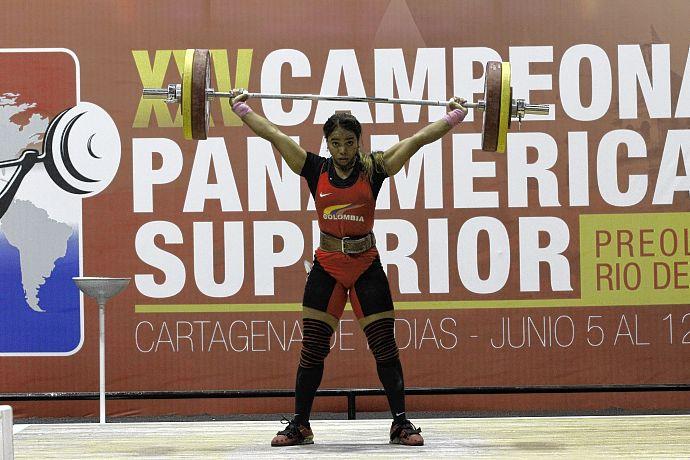 Leidy Solís sale a escena por una medalla olímpica en pesas