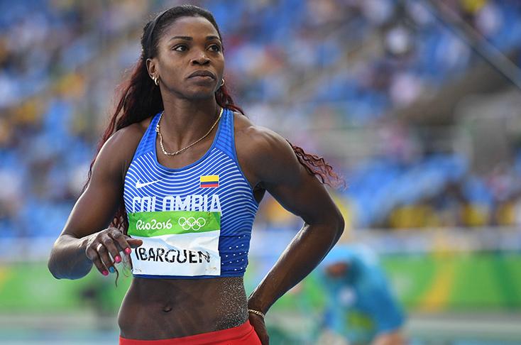 Caterine Ibargüen gana el oro en los Juegos Olímpicos de Río 2016