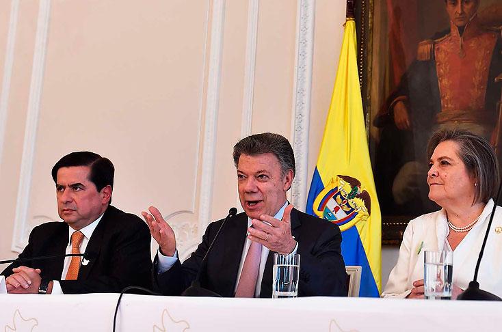 El fin del conflicto está cada vez más cerca — Santos