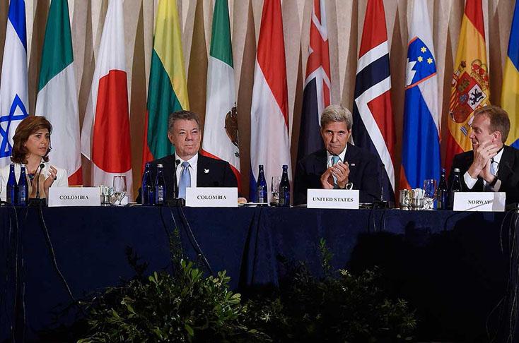 Las Farc debate acuerdo de paz en conferencia