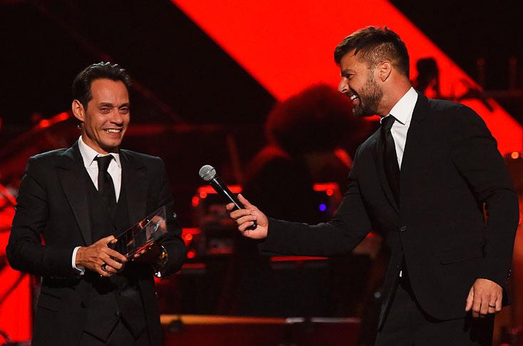 Resultado de imagen para A bailar con Marc Anthony, la Persona del Año de la música latina