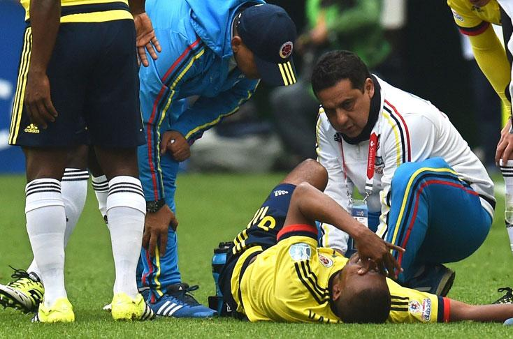 Bajas sensibles en la Selección Colombia para enfrentar a Argentina