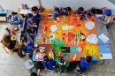Historia de la escuela María Perlaza, donde alumnos de educación pública reciben clases de calidad