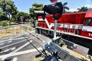 Barrera del ferrocarril en Cali para prevenir accidentes aún no funciona