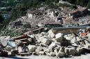 Los 'ángeles en moto' que ayudan a damnificados tras terremoto en Italia