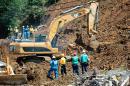 A ocho suben los muertos por derrumbe en vía Medellín - Bogotá