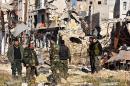 Régimen sirio vuelve a bombardear Alepo