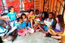 Niños de la 'ciudadela de la paz' en Cali esperan un regalo para esta Navidad