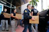 En imágenes: FBI allana oficinas de Concacaf en Miami Beach