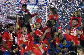 La selección de Chile se corona campeona de la Copa América en su casa