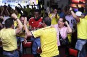 Los caleños gozaron con la victoria de la selección Colombia