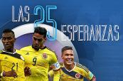 Infografía: Así llegan los jugadores de Colombia para inicio de las Eliminatorias