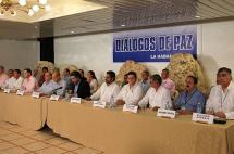 Noruega y Cuba piden salvar proceso de paz en Colombia