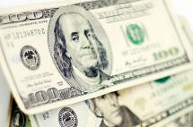 Dólar abre la semana con un alza de $21,08