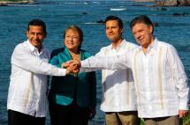 Con presencia de Santos, mandatarios de la Alianza del Pacífico se reúnen en Chile