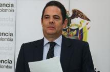 Vicepresidente Germán Vargas Lleras anuncia que se someterá a radioterapia