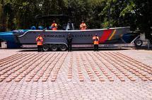 Incautan 650 kilos de cocaína en el Pacífico