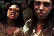En vídeo: la broma del ataque zombi en un metro de Brasil