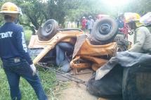 Dos muertos en accidente de tránsito en la vía Riofrío - Trujillo