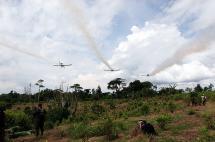 Organizaciones piden suspensión inmediata de fumigaciones aéreas con glifosato