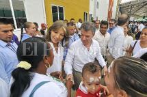 Resumen fotográfico de la visita del presidente Santos y su gabinete a Cali