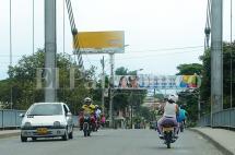Se normaliza paso por el puente de Juanchito