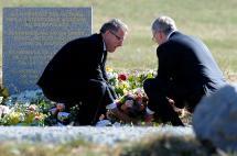 Presidentes de Lufthansa y Germanwings viajaron al lugar de la catástrofe en los Alpes