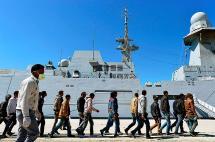 El Mediterráneo se convirtió en un cementerio para migrantes