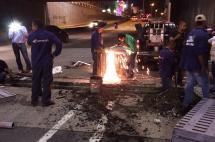 Instalan rejilla de alcantarillado en la Calle 5 con Carrera 4