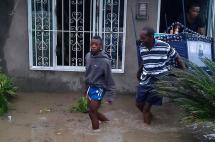 A 35 casas de Villa Rica, norte del Cauca,  se las 'tragó' una quebrada