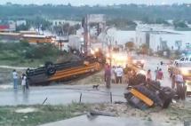 Tornado deja 11 muertos en ciudad mexicana fronteriza con EE.UU.