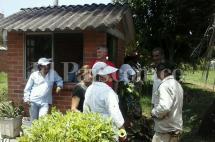 Habitantes de barrio del Sur se opusieron a demolición de casetas de vigilancia